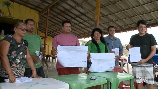 Comerciantes tentam reverter decisão judicial de retirada de barracas em praia do MA
