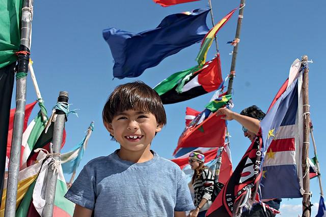 Rafael na Bolívia / worldschooling (Foto: Rafael na Bolívia / worldschooling (Foto: Arquivo pessoal))