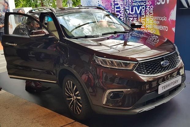 Ford no Salão SP 2018 (Foto: Julio Cabral/Autoesporte)