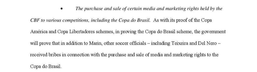 Governo dos EUA diz que vai provar o recebimento de propina por parte de cartolas brasileiros (Foto: Reprodução) (Foto: )