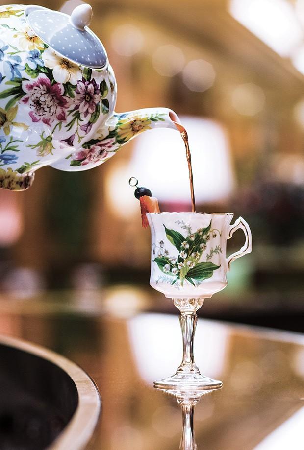 Hotelaria: O tradicional chá da tarde do Dorchester  (Foto: divulgação)