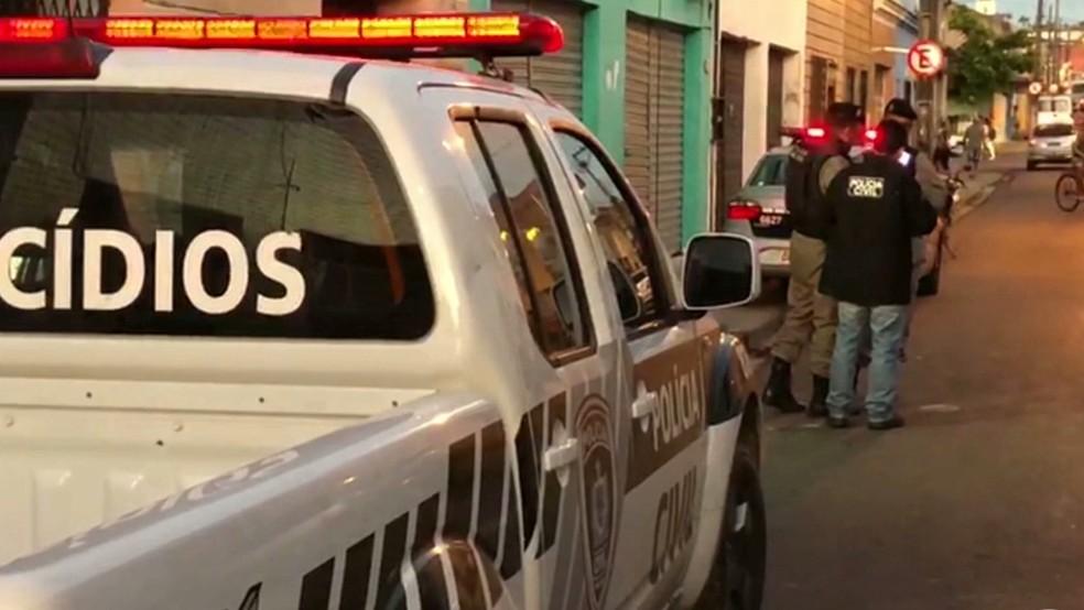 Crimes violentos letais intencionais caíram em João Pessoa e Campina Grande — Foto: Reprodução/TV Cabo Branco