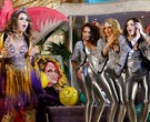 Claudia Abreu, Taís Araújo, Leandra Leal e Isabelle Drummond em cena de 'Cheias de charme'/Foto: TV Globo