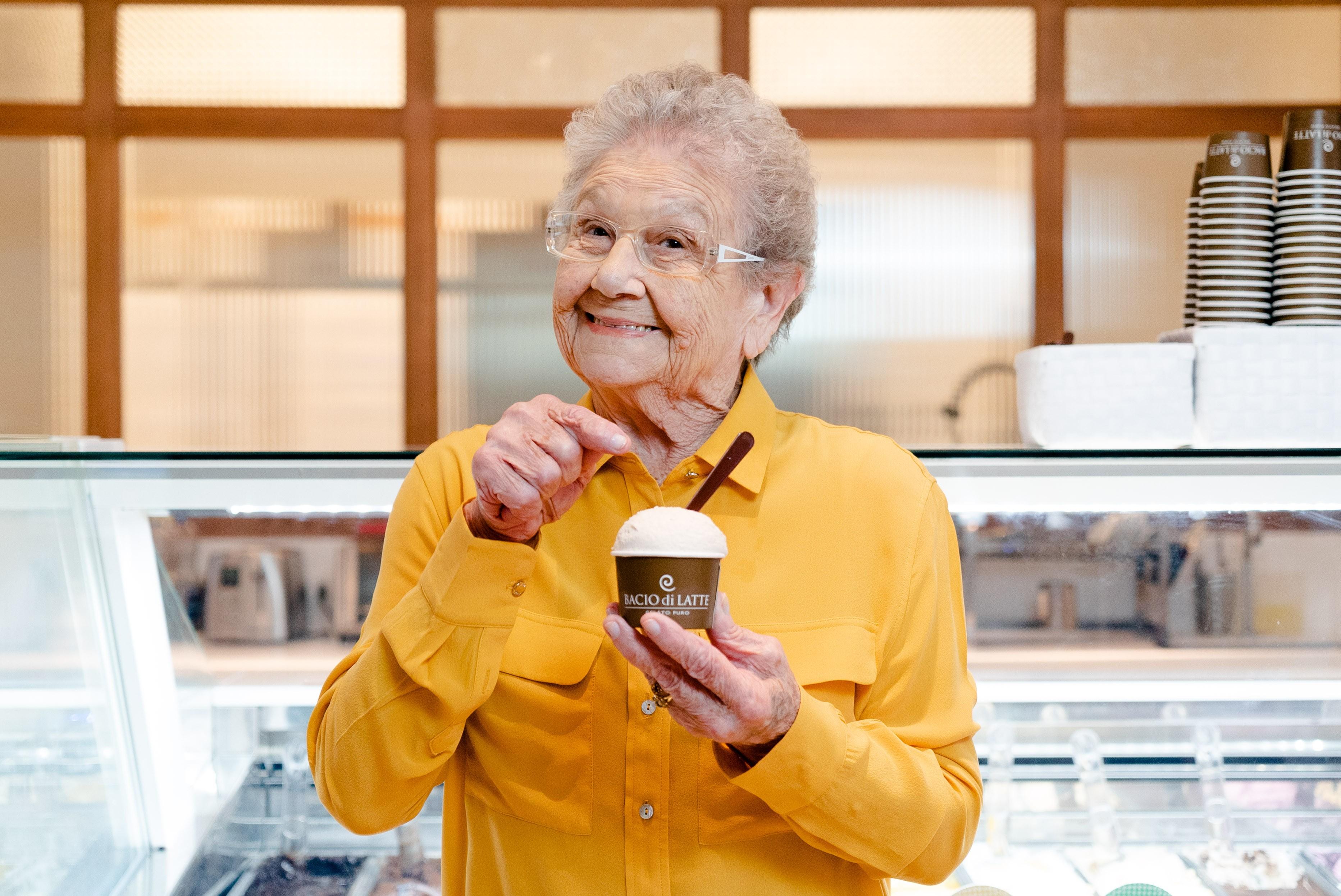 Bacio di Latte transforma receitas da Vovó Palmirinha em sorvete