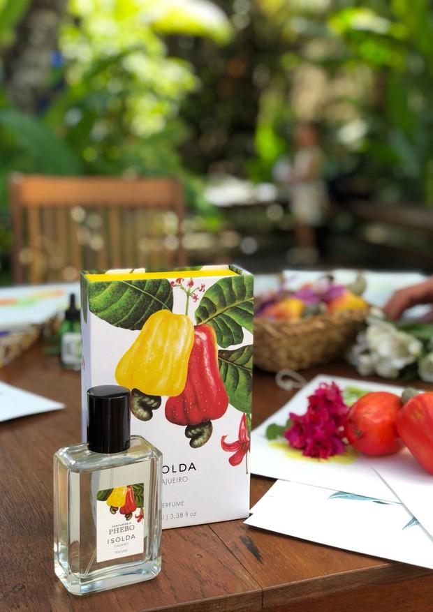 Cajueiro: perfume lançamento da Phebo em parceria com a Isolda  (Foto: Divulgação)