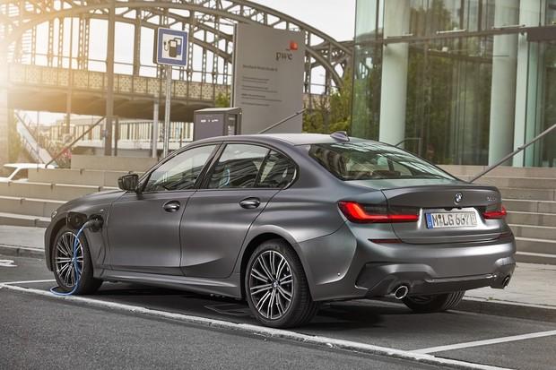 BMW Série 3 híbrido                (Foto:  Divulgação)