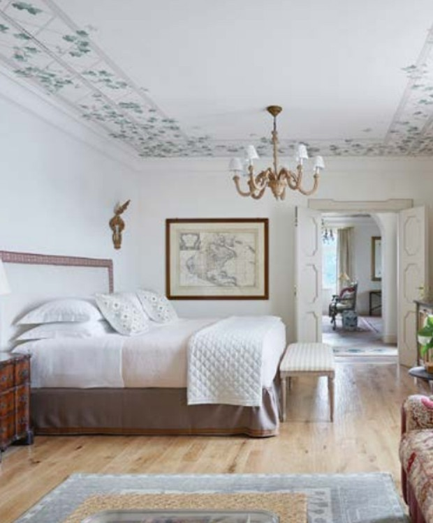Suíte privada da Villa Margherita (Foto: Belmond Hotel/ Reprodução)