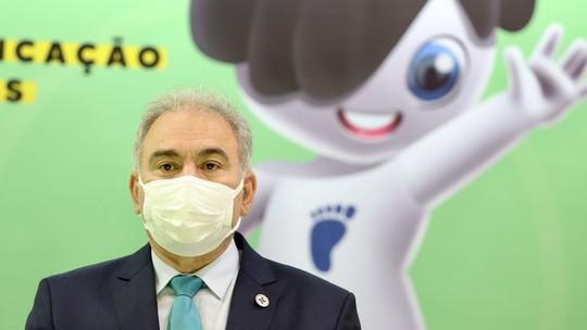 Foto: (Reprodução/Twitter Ministério da Saúde)