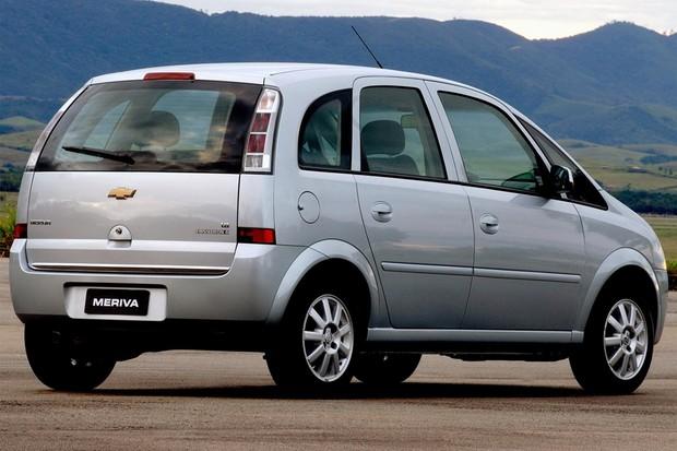 Chevrolet Meriva Easytronic Traseira (Foto: Divulgação)