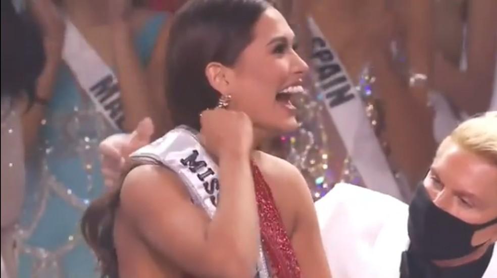 Mexicana é eleita Miss Universo — Foto: Reprodução Instagram/missuniverse