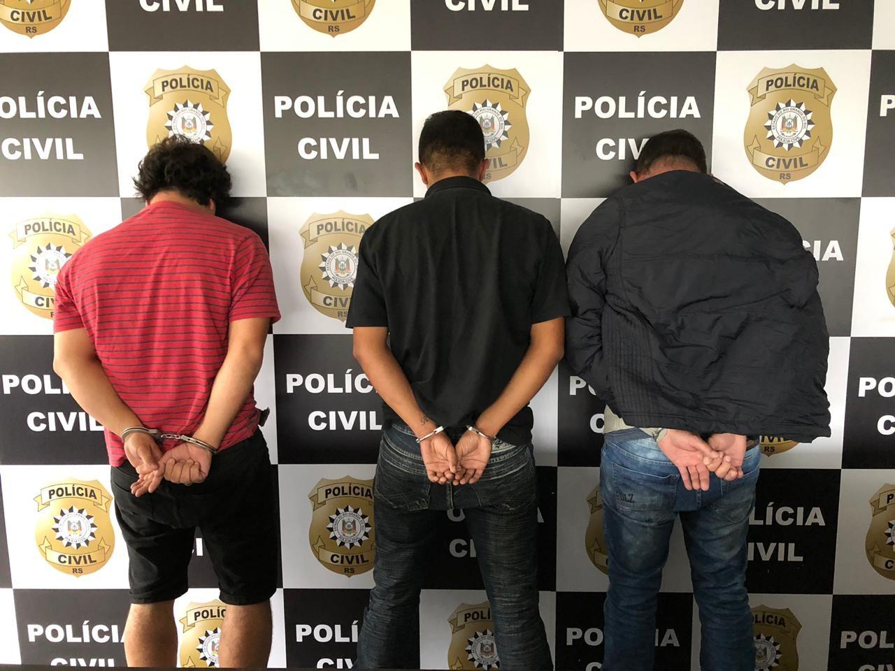 Polícia evita sequestro de empresário e prende três suspeitos em Santo Antônio da Patrulha