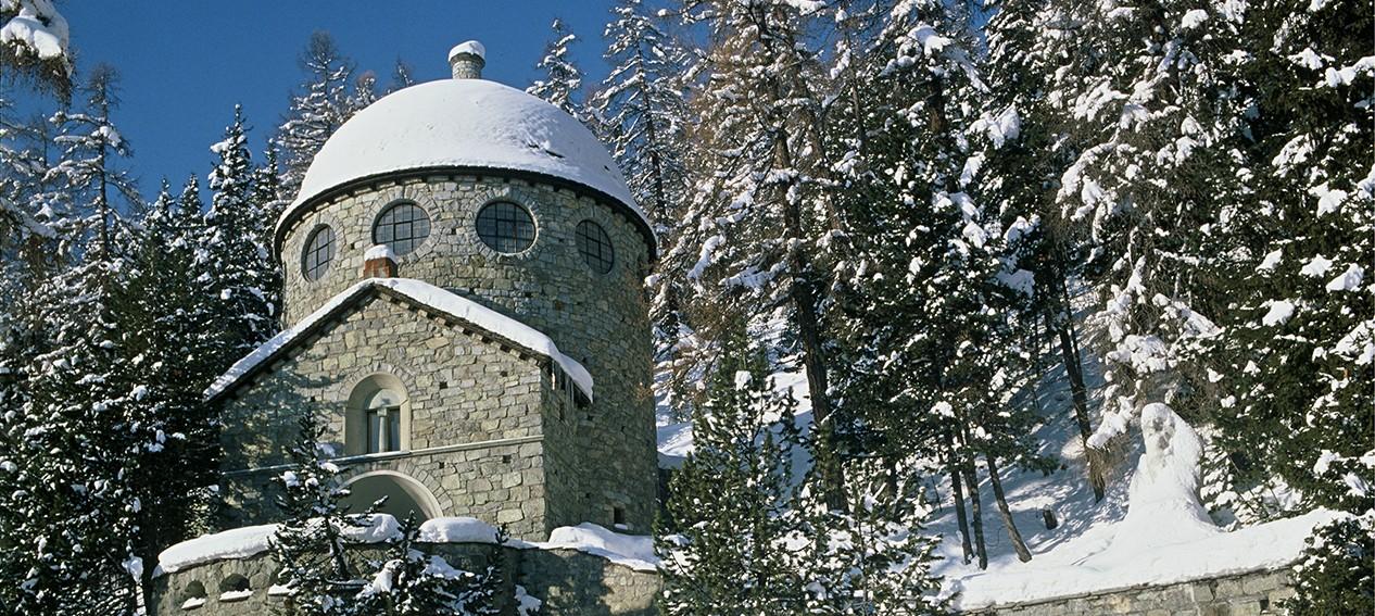 O Museu Segantini em Saint Moritz (Foto: Divulgação)