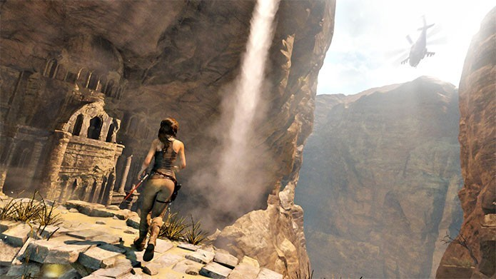 Lara Croft retornar? em Rise of the Tomb Raider (Foto: Divulga??o)