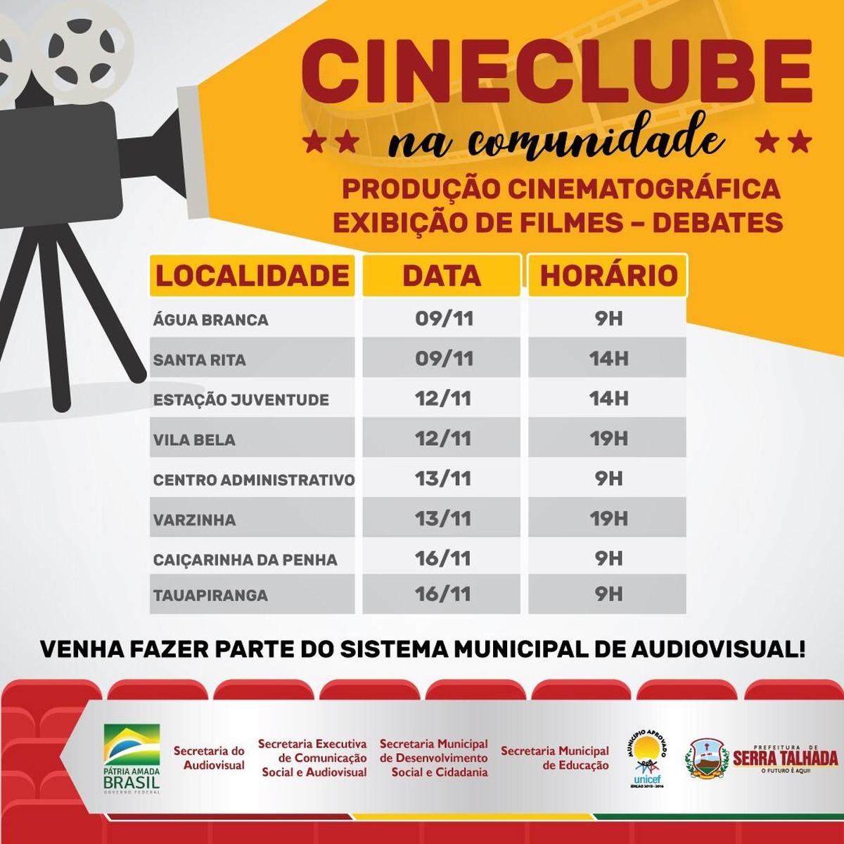 Prefeitura de Serra Talhada promove projeto 'Cineclube na Comunidade' - G1