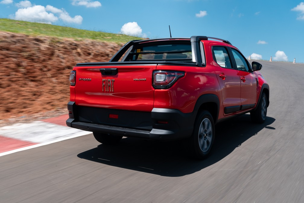 Fiat Strada with 1.3 engine goes better than the old one with 1.8 engine - Photo: Marcelo Brandt / G1