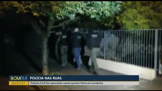 Polícia prende 3 suspeitos de integrar quadrilha que trafica drogas no norte do Paraná