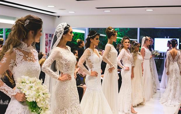 Vestido de noivas Lethicia Bronstein (Foto: Edilson Dias)