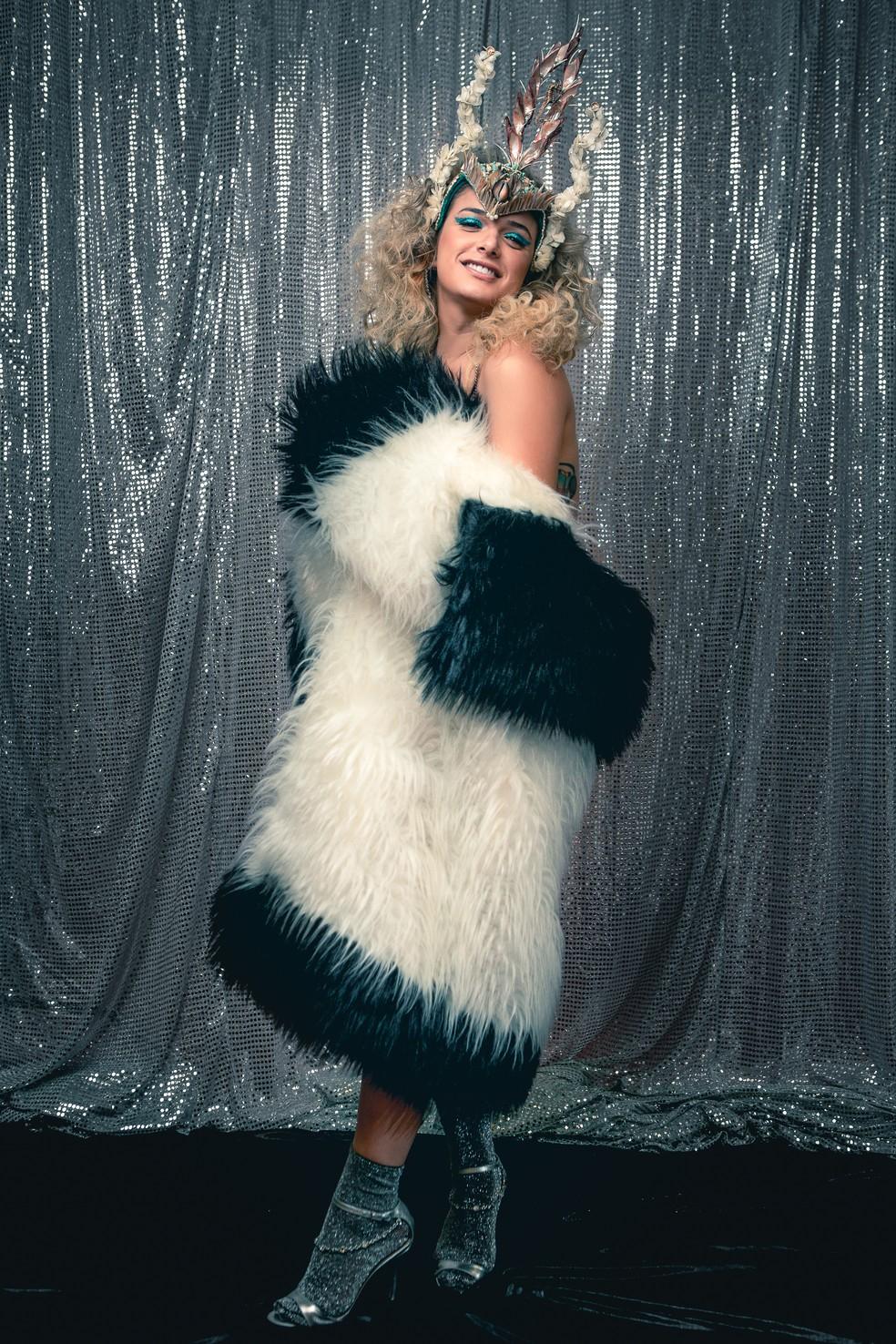 Glamour Garcia se diz orgulhosa de sua trajetória nas artes cênicas  — Foto: Fabiano Battaglin/Gshow