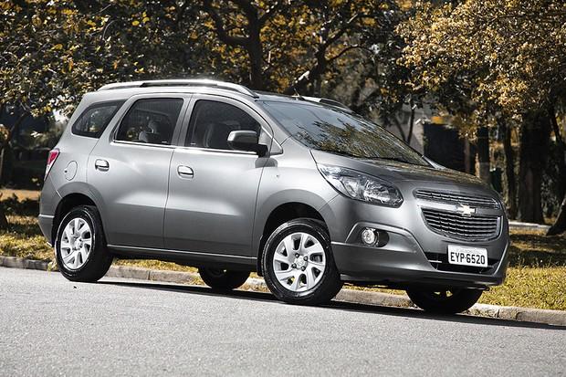 Usado Boa Compra Chevrolet Spin Ltz 18 20132014 Auto Esporte