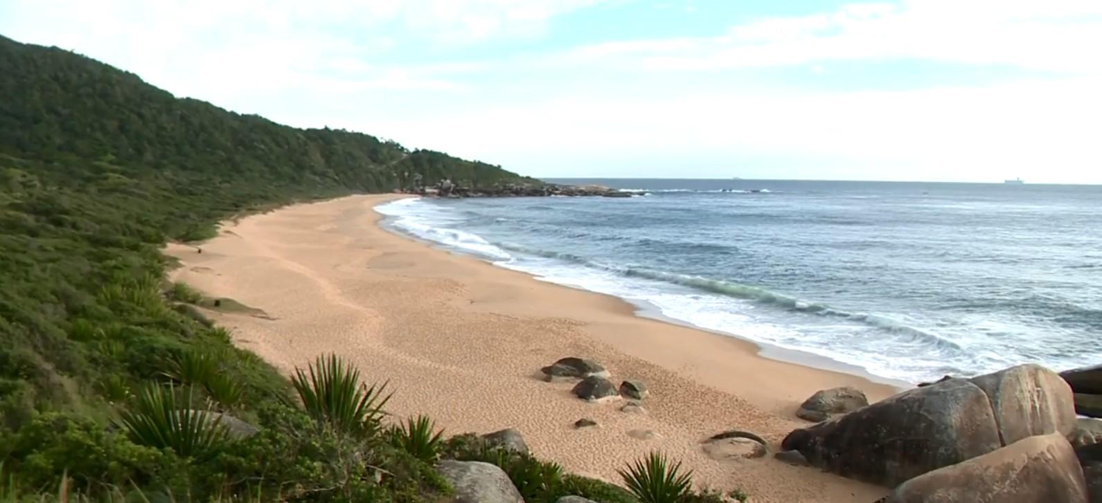 Banco vai leiloar terrenos à beira de praia deserta de SC