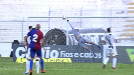 João Pedro faz dois, e Jenison passa mais uma vez em branco na derrota do Paraná; veja as notas