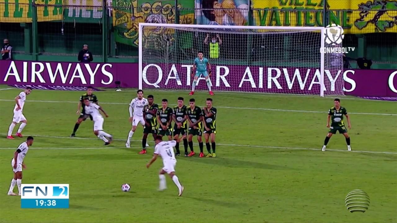 Palmeiras vence a 1ª partida da Recopa Sul-Americana