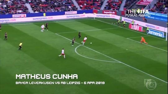 Fifa divulga dez golaços candidatos ao prêmio Puskás
