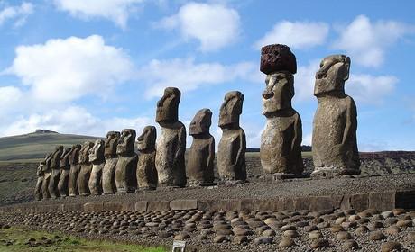 Easter Island Ahu/Wikimedia Commons