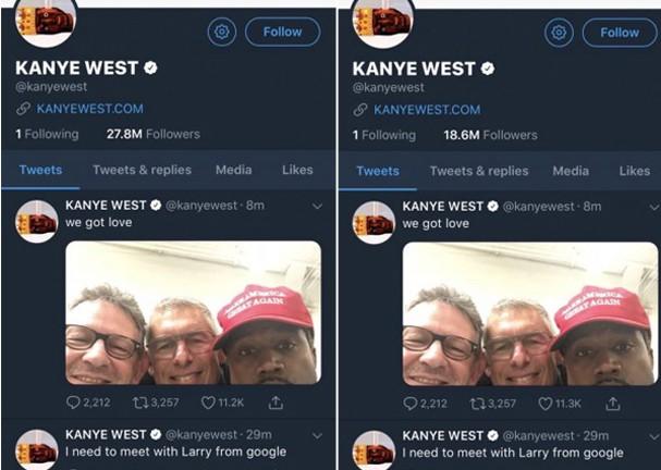 Kanye West perde milhões de seguidores (Foto: Reprodução/Instagram)
