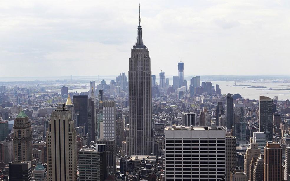 Vista do Empire State Building, em imagem de arquivo — Foto: Reuters