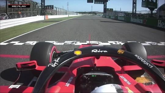 """Direção de prova explica por que não puniu Vettel pela queima de largada: """"Dentro do tolerável"""""""