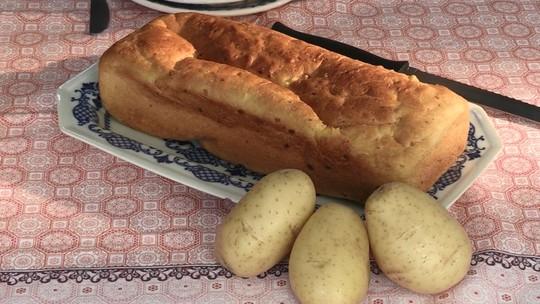 Aprenda a fazer broa de batata