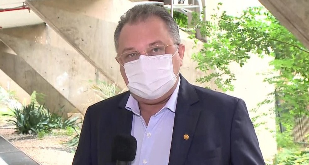 Secretário Estadual de Saúde do Piauí, Florentino Neto — Foto: Reprodução/TV Clube