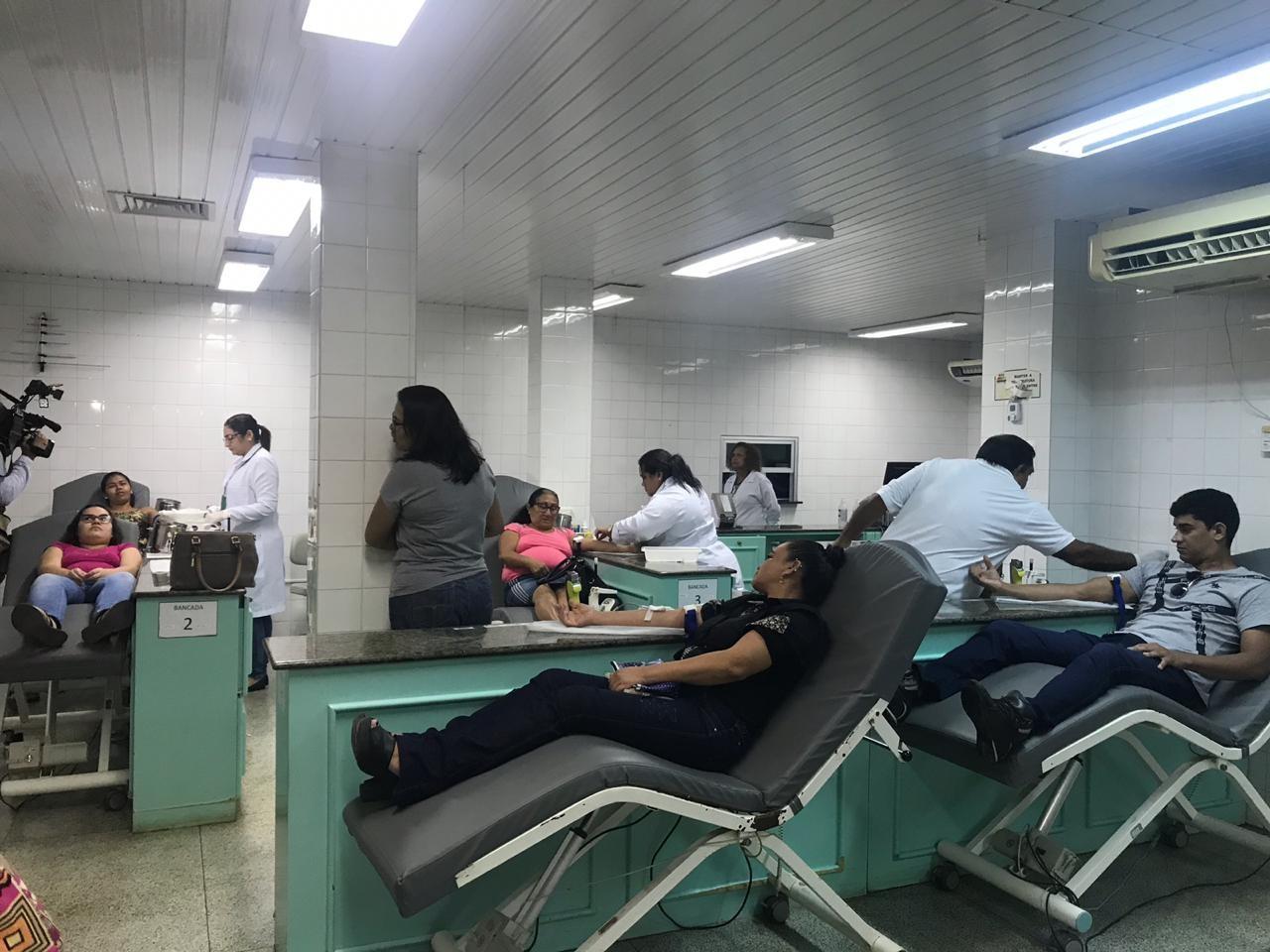 Com estoque crítico, Hemoap faz campanha para doações de sangue durante férias no AP