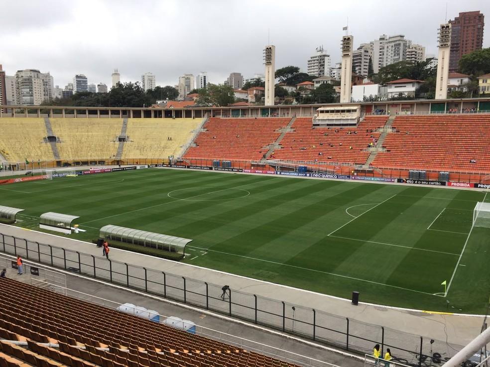 São Paulo enfrentará o Atlético-PR no Pacaembu (Foto: Felipe Zito)