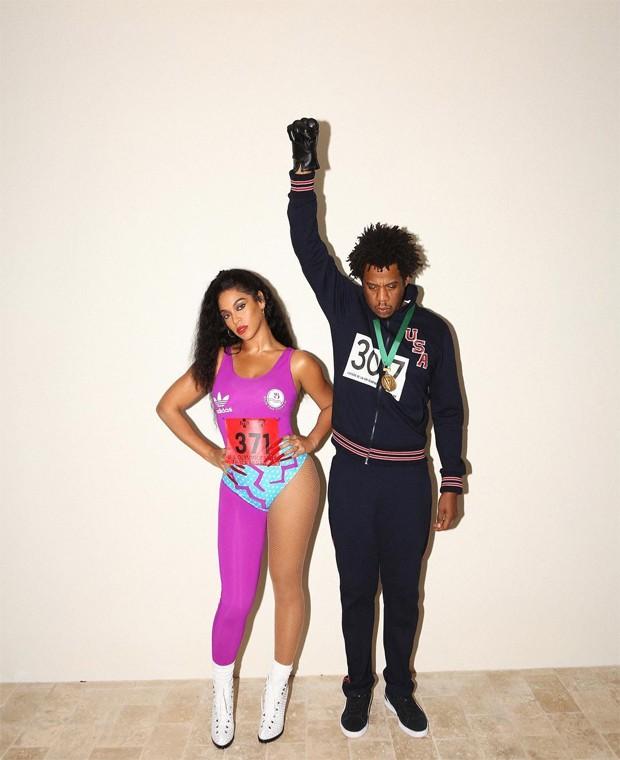 Beyoncé e Jay-Z (Foto: Reprodução / Instagram)