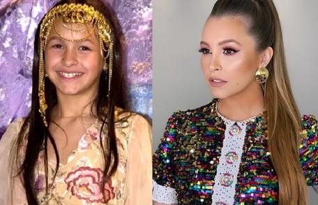 Carla Diaz interpretou a pequena Khadija, que ficou conhecida pelo bordão 'inshalá' e por gostar muito de ouro. Sua última participação em novelas foi em 'Espelho da vida' TV Globo / Reprodução Instagram