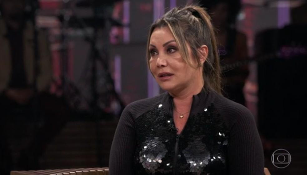 Elaine Caparróz contou sobre agressão que sofreu  — Foto: Reprodução/TV Globo