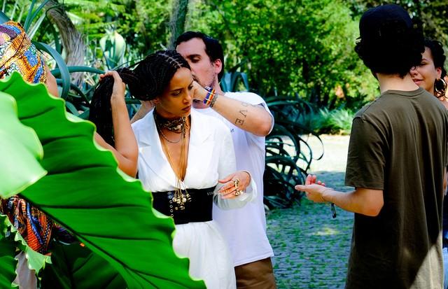 Making of: Taís Araujo na Vogue de novembro (Foto: Roberta Boechat)