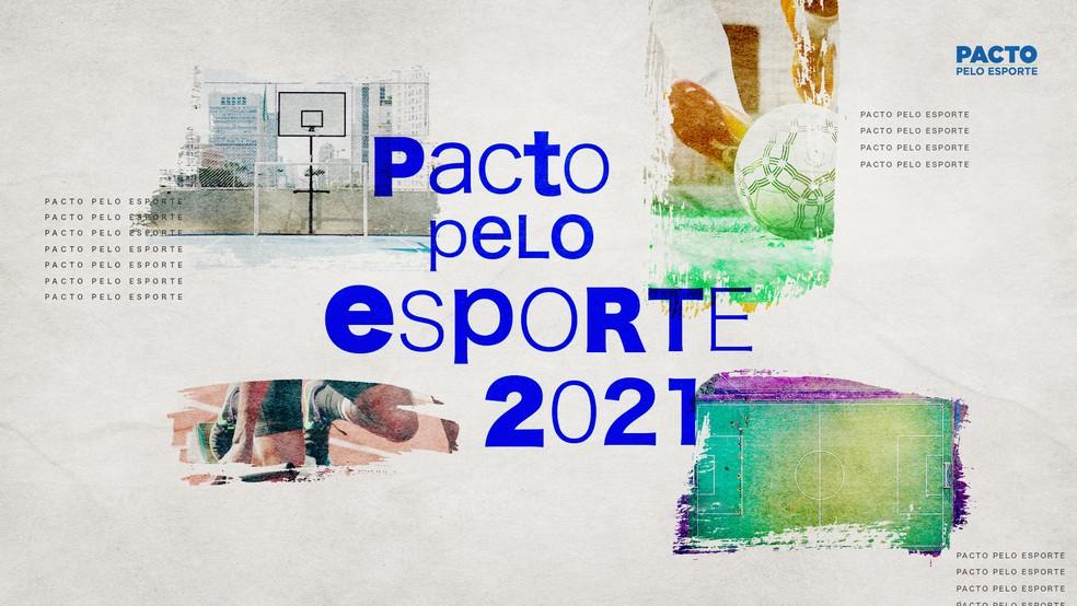 Pacto pelo Esporte 2021 — Foto: Infografia