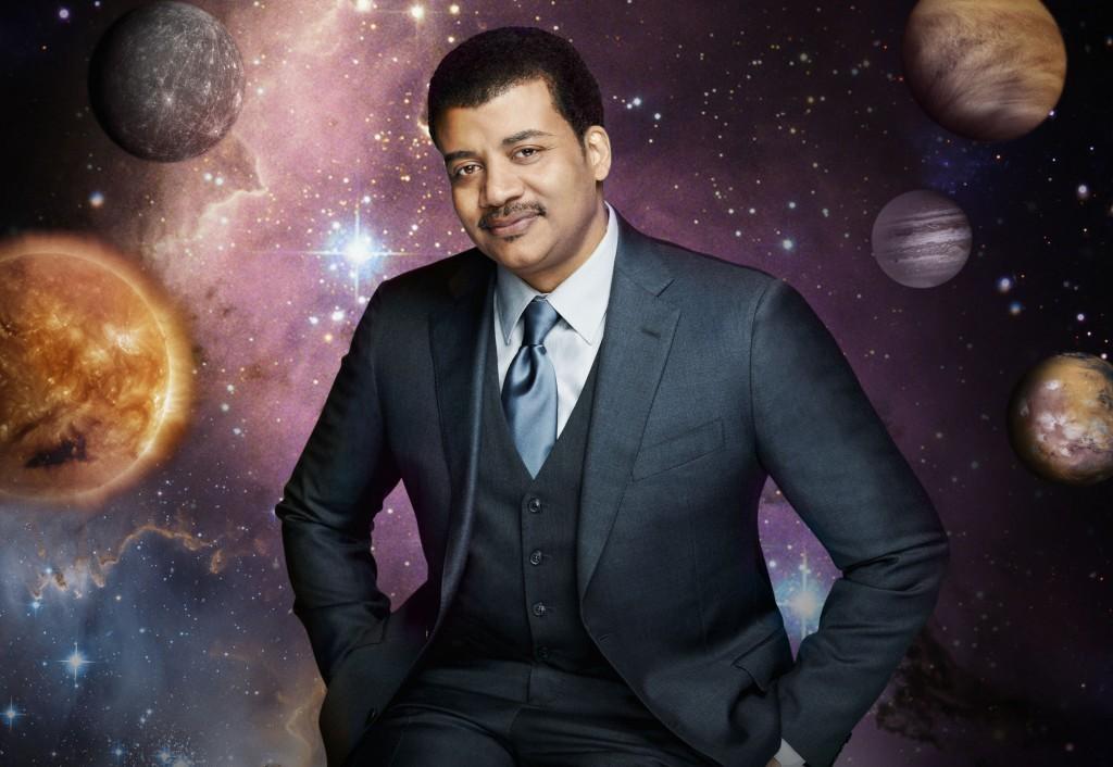 Neil deGrasse Tyson em Cosmos (Foto: Divulgação)