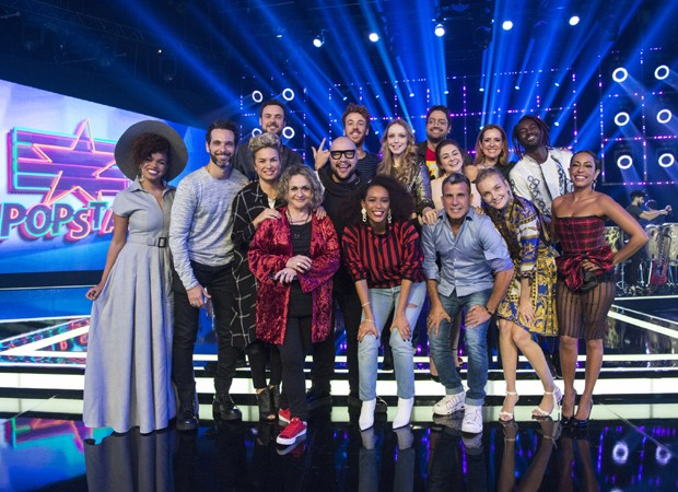 Elenco do Popstar 2018 (Foto: Estevan Avellar/TV Globo)