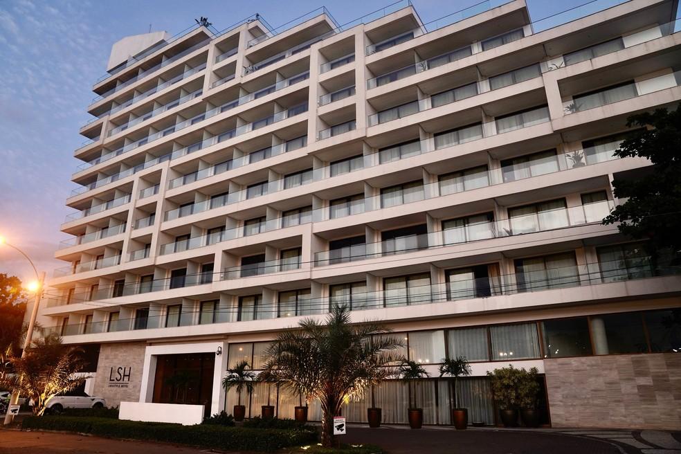 Hotel LSH, na Barra da Tijuca — Foto: Marcos Serra Lima/G1 Rio