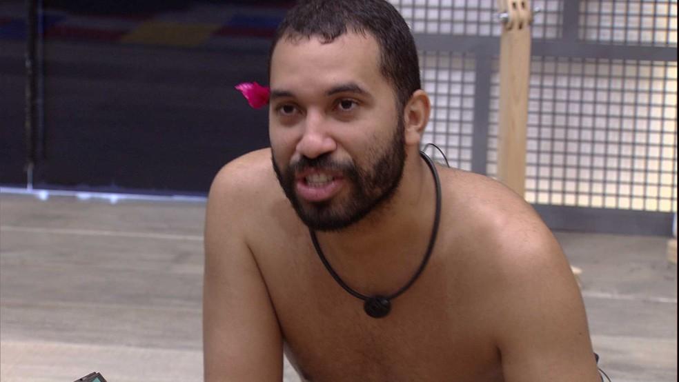 Gilberto fala sobre brother do BBB21 : 'Me apaixonei' — Foto: Globo