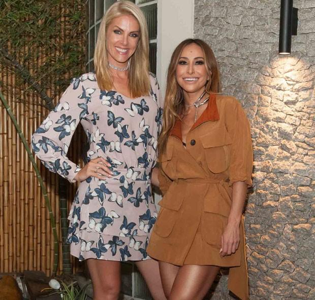 Ana Hickmann e Sabrina Sato (Foto: Brazil News / Samuel Chaves)