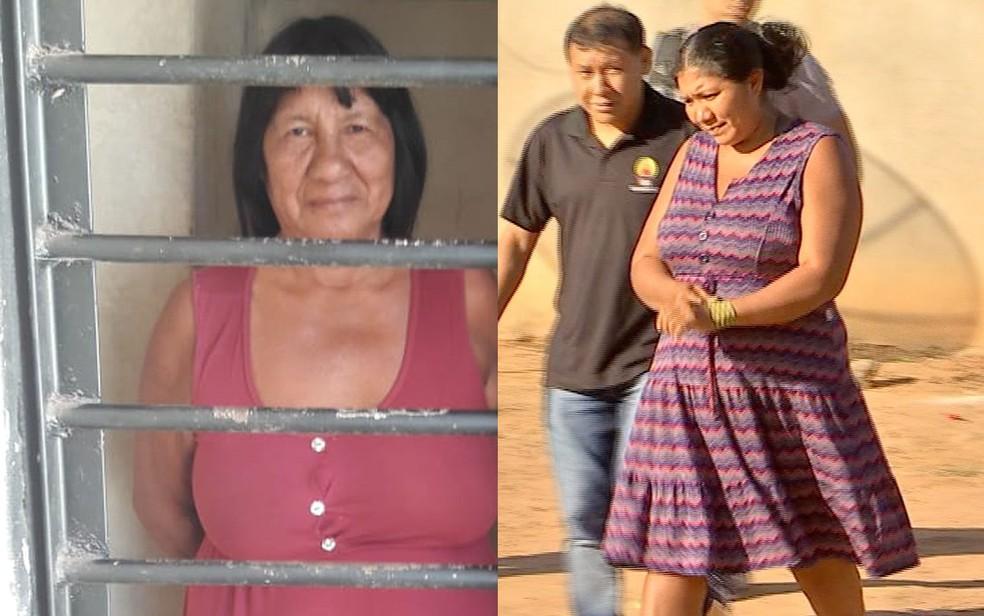 Avó e bisavó não aceitavam índia recém-nascida enterrada viva por ser filha de mãe solteira e pai de outra etnia (Foto: Polícia Civil de MT/TV Centro América)