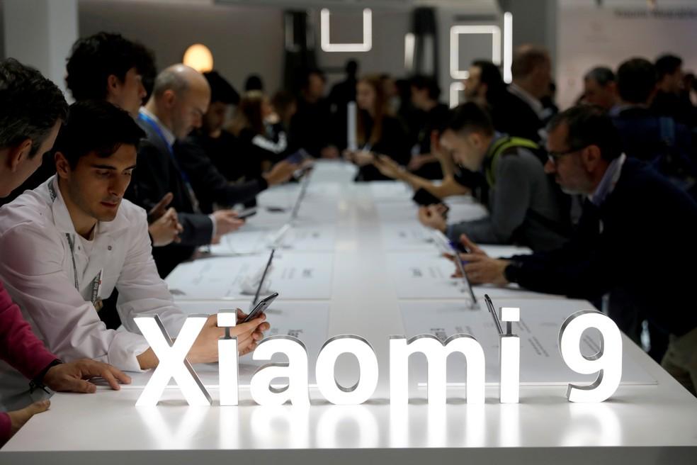 Crescimento da Xiaomi no 3° trimestre diminuiu, com menor demanda no mercado chinês. — Foto: Rafael Marchante/Reuters