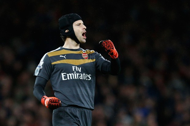 Petr Cech, o veterano goleiro do Arsenal (Foto: Getty Images)