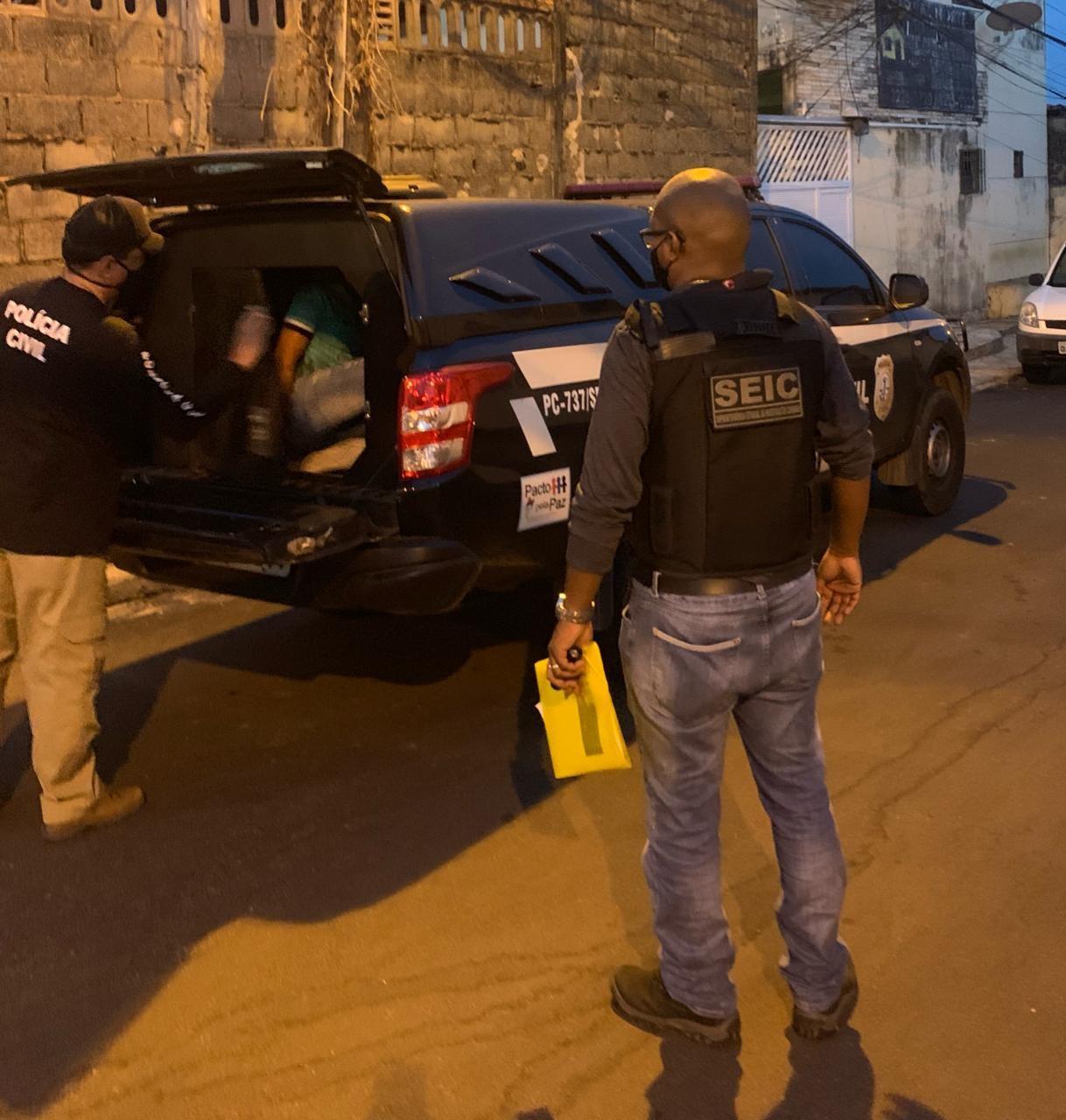 Polícia prende no Maranhão suspeito de participar de atentado contra delegado do Piauí