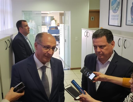 Geraldo Alckmin e Marconi Perillo (Foto: Reprodução)